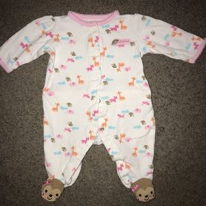 Baby Girls Size 0-3 Months sleep & Play